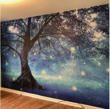 Wall Wrap Image of a tree