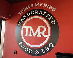 Wall Graphic Example - Tickle My Ribs