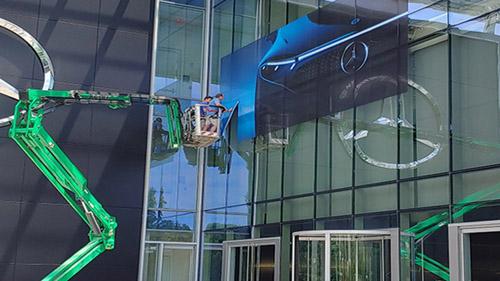 Mercedes Installation - Lift