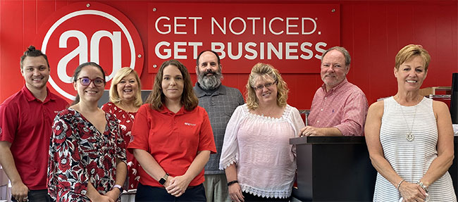 Our staff at AlphaGraphics Beaufort