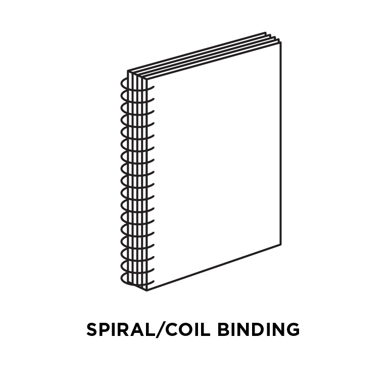 Spiral/coil binding