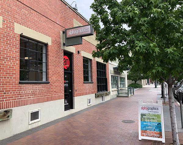 Boise Idaho brick and mortar storefront