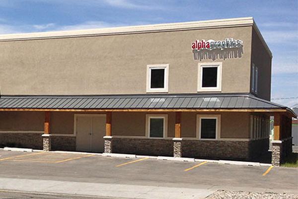 Rexburg, Idaho brick and mortar storefront
